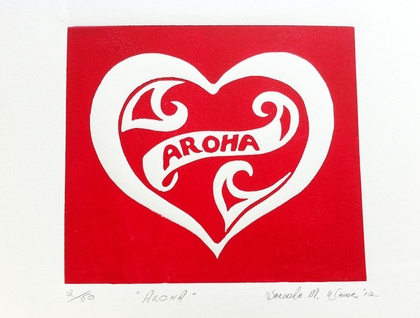 "Limited Edition Print ""Aroha"""