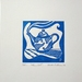"Limited Edition Lino Cut - ""Time Out"""