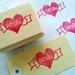 Hand Carved Rubber Stamp - Aroha