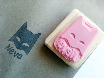 Batman - Customised Hand Carved Rubber Stamp
