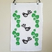 Tea Towel - Kawakawa and Fantail