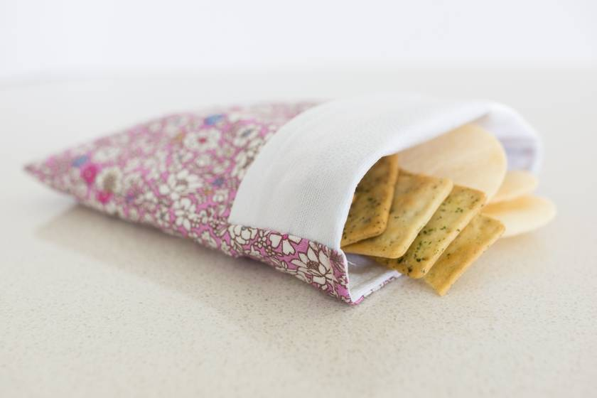 Reusable snack bag - Zero waste lunch solution