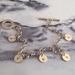 "Hand Stamped ""Aroha"" Charm Bracelet"