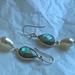 Gemstone/Pearl Earrings