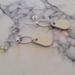 Leather/Silver Earrings
