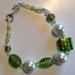 Bracelet - Pearly Mint and Lime (Yuletide range)