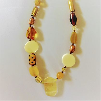 Necklace: Oranges and Lemons