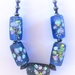 Necklace: Capri Summer - beautiful lampwork flower beads