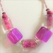 Necklace: Hot Pink Martini