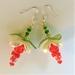 Earrings: Strawberry Mimosa (Cocktail range)
