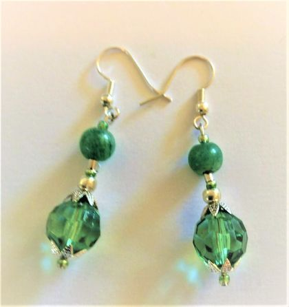 Earrings: Emerald City Cocktail