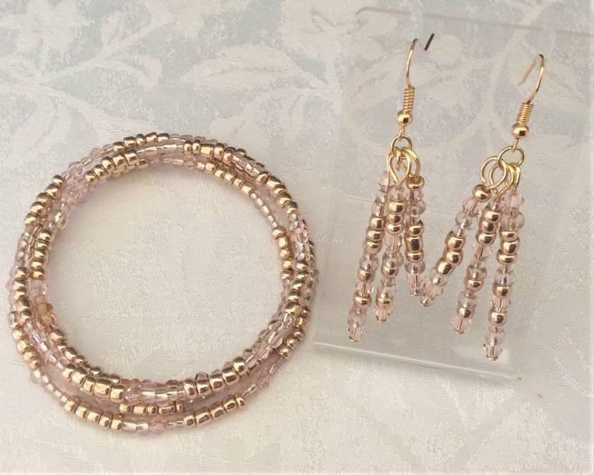 Bracelet: Rose Gold - part of a set (Sweetheart range)
