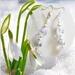 Earrings - Snowdrop (Sweetheart range)