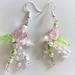 Earrings: Rose Spray 'Irischka' (Sweetheart range)