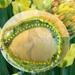 "Bracelet: Tulip ""Yellow Spring Green""  (Floral Bouquet range)"