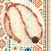Necklace: Abstract Boho Tribal - part of a set of three (Boho Range)