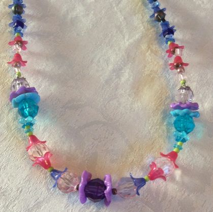 Necklace: Hot Pink Candy (Chroma range)