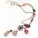 Necklace: Gearwork Hearts (Steampunk Dreams range)