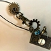 Necklace: Sprocket & Swallow Time (Steampunk Dreams range)