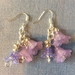 Earrings: Flower Jelly Blush (Sweethearts range)