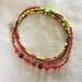 Bracelet or Necklace - Boho Christmas seed beads (Festive range)
