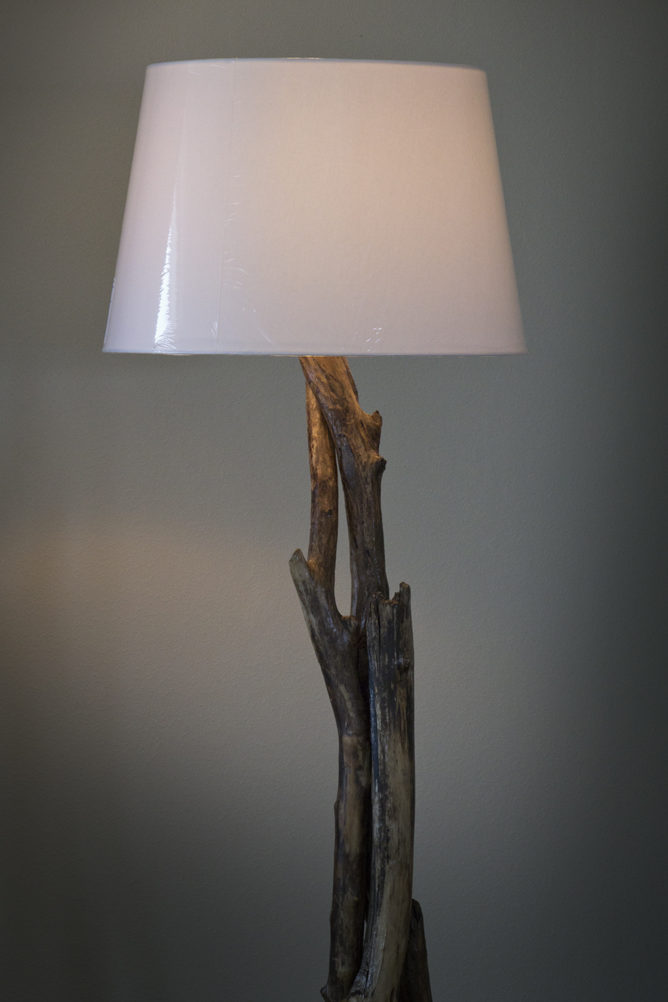 Unique Driftwood Floor Lamp Felt