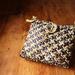 purple tartan kete