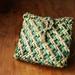 green tartan kete
