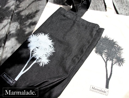 Cabbage Tree Tote Bag