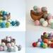 Bunting / Garland - Custom Colour Felt Balls