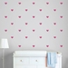 Decals Heart Decals Fabric Wall Stickers Non-Toxic