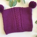 Ashdown Baby Winter Hat - berry