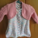 Baby knitted dress and bolero