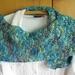 Cotton/silk blend scarf