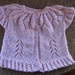 Girls  cap sleeve cardigan with frills