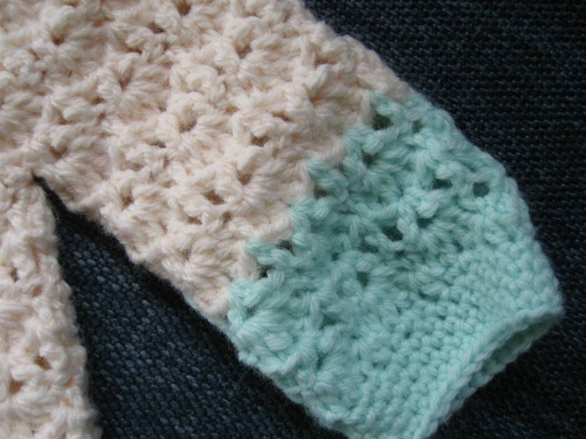 crochet cardigan for baby