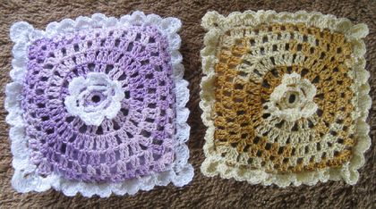 Lavender sachets- set of two.