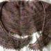 Multi coloured shawlette