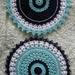 Crochet mandala/doily set-