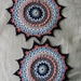 Crochet mandala/doilies set of 2