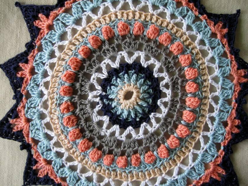 Crochet mandala/doilies set of 2