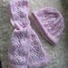 Beanie and keyhole scarf for toddler