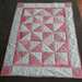 Beautiful Baby Cot Quilt Pink hues 100% cotton SALE SALE
