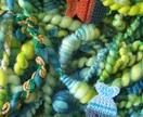 Anemone Handspun Art Yarn - HUGE 15oz