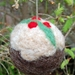 Felted wool decoration - Christmas pudding