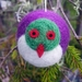 Felted wool decoration - kereru