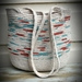 Cotton rope hand made shoulder bag