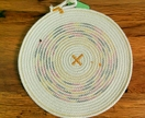 Colied rope Pot trivet or Placemat