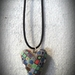 Pendant- Retro Whimsical Heart