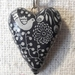 Pendant - whimsical Heart.